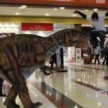 Роботизированный костюм динозавра с множеством функций, Пермь