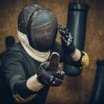 Ножевой бой индивидуально в ножевой школе Толпар, Пермь