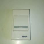 Кнопка беспроводного звонка Feron, Пермь