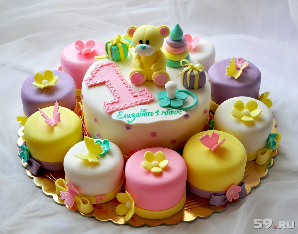 Торт на детский праздник фото
