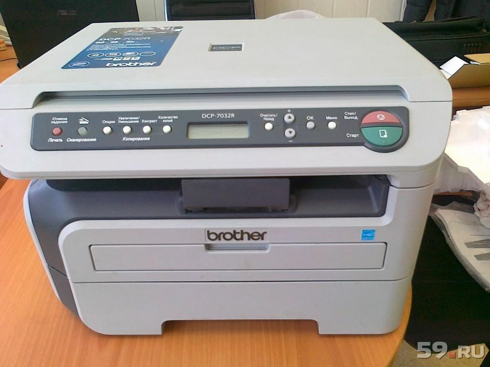 Драйверы для принтера бразер