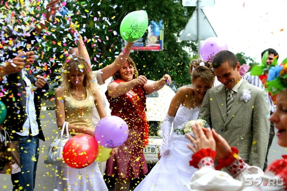 Большой праздник свадьба