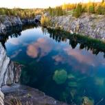 Горный парк Рускеала и водопады/ка011, Пермь