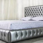 Шикарная кровать в классическом стиле с мягким изголовьем, Пермь