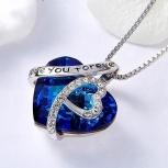 Ожерелье в виде сердца Love, Пермь