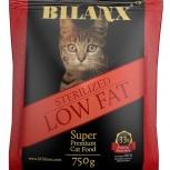 Bilanx корм для кошек стерелизед 10 кг, Пермь