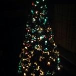Новогодняя пышная елочка с свечам, Пермь