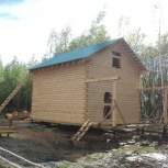 Дом 6х7,брус 150х200, на сваях под кровлю., Пермь