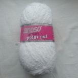 Lanoso Puf 100г 160м цвет 955 Белый., Пермь