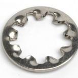 Шайба Ф3,7(М3,5) круглая стопорная DIN 6798 J, Пермь