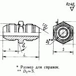 Проходники прямые для соед трубопроводов по наруж конусу ГОСТ 13959-74, Пермь