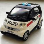 Полицейские машины мира №45 SMART CITY COUPE,полиция австрии, Пермь