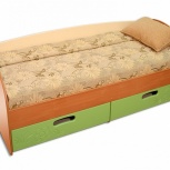 Кровать с ящиками смешарики, Пермь