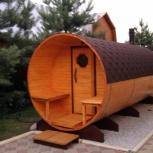 Баня бочка ( из термообработанной доски ) 6 метров, Пермь