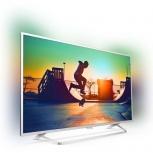 Телевизор Philips 49PUS6412/12, Ultra HD(4К),smart, светомузыка внутри, Пермь