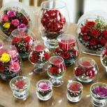Цветы в стекле в вакууме Пермь, Пермь