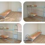 Кровати, столы,  табуретки, тумба, шкаф для рабочих, строителей, Пермь