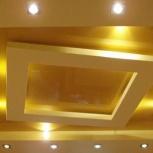ГКЛ-потолки, стены, перегородки, Пермь