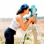 Видео-курс по геодезии. Работа с тахеометром, Пермь