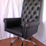 Офисное кресло руководителя в технике капитоне, Пермь