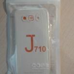 Чехол-накладка для Samsung J7, силиконовая, Пермь