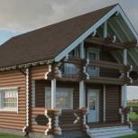 Дом с Баней 159м2 размерами 8х9,5м. под усадку, Пермь