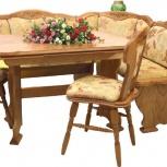 Кухонный уголок купить под размер и цвет, мебель из дуба и бука, Пермь