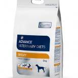 ADVANCE сухой корм для собак при ожирении (Obesity Management) 3 кг, Пермь