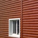 Металлический сайдинг блок-хаус, Пермь