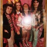 Огромный плакат рок группы slade, Пермь