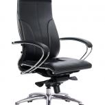 Кресло офисное Метта Samurai Lux, черный, Пермь