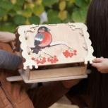 Кормушка (скворечник) для птиц с местом для декупажа, Пермь