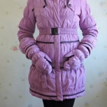 Зимний пуховик на девочку фирмы Biko&Kana, Пермь