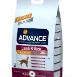 ADVANCE сухой корм для собак с ягненком и рисом (Lamb&Rice) 3 кг, Пермь