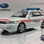 полицейские машины мира №58 SUBARU LEGACY,полиция швейцарии, Пермь