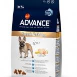 ADVANCE сухой корм для французских бульдогов (French Bulldog) 3 кг, Пермь