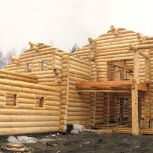 Ручная рубка домов бань любой сложности из зимнего леса, Пермь