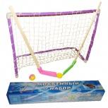 Хоккейный набор (2клюшки+ворота с сеткой+шайба+мячик) (новый), Пермь