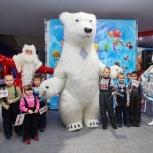 Выступление гигантского белого медведя, Пермь