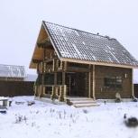 Дом 6х8м. из бревна под усадку, Пермь