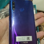 Смартфон Honor 10i 128GB Мерцающий синий, Пермь