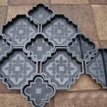 формы для изготовления тротуарной клевер краковский, Пермь