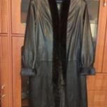 Продам демисезонное кожаное пальто, Пермь