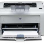 Принтер НР LJ1020 , лазерная печать, Пермь