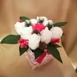 Мини букет из мыльных роз, Пермь