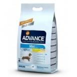 Advance сухой корм для собак малых пород контроль веса  3 кг, Пермь
