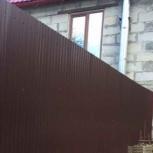 Установка заборов,ограждений, ворот, калиток., Пермь