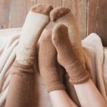 Изделия из верблюжьей и овечьей шерсти: носки, пояса, гетры, Пермь