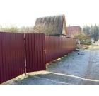 Забор из профнастила, Пермь