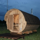 Баня Бочка (из термо древесины), Пермь